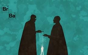 Heisenberg, puppets, artwork, Gustavo Fring, Walter White, TV