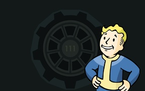 Bethesda Softworks, video games, Vault Boy, Fallout 4, Fallout, apocalyptic