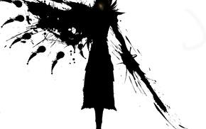 weapon, ink, wings