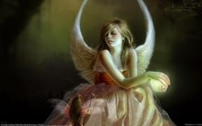 artwork, angel, fantasy art