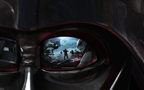 EA DICE, Star Wars, AT, ST, Darth Vader, artwork