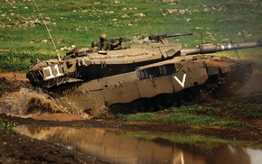 tank, military, Israel Defense Forces, Merkava