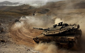 Israel Defense Forces, military, Merkava, tank