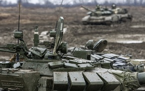 military, mud, t, 72, Russian Army, tank