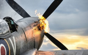 military aircraft, Royal Airforce, military, Supermarine Spitfire