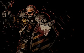 Darkest Dungeon, video games, dark, Man, At, Arms