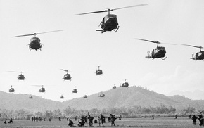air force, history, military, helicopters, Vietnam War