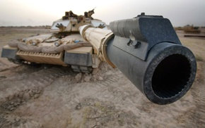 military, weapon, desert, tank
