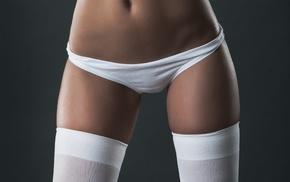 the gap, panties, white panties, closeup, girl, white stockings