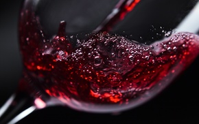 drinking glass, macro, wine
