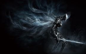 knight, artwork, concept art, sword, Dark Souls III, warrior