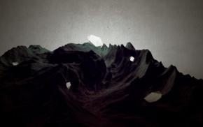 digital art, dark