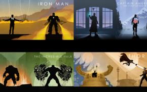 Loki, Hulk, The Avengers, Captain America The First Avenger, Marvel Comics, comic books