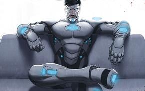 Marvel Comics, comic books, Iron Man, Superior Iron Man