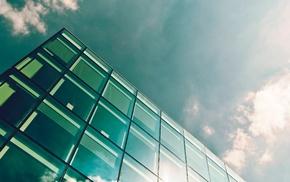 glass, architecture, London