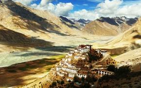 Himalayas, Tibet, monastery