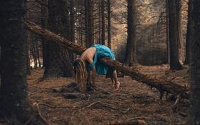 dead, fantasy art, girl outdoors, forest