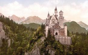 castle, Germany, Neuschwanstein Castle, Schloss Neuschwanstein