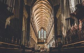 Salisbury, cathedral, church