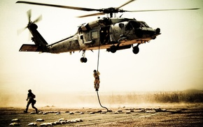 soldier, helicopters, military, United States Navy