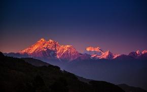 landscape, Himalayas, mountain