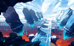artwork, digital art, concept art, Duelyst