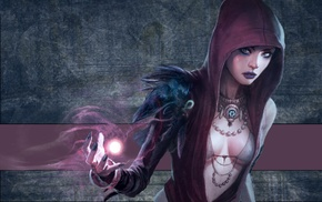 Dragon Age, Morrigan character, video games, artwork