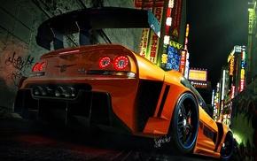 Nissan GTR R33, tuning, vehicle, car
