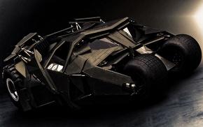 car, Batman, vehicle, Batmobile