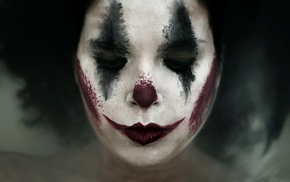 makeup, face, clowns