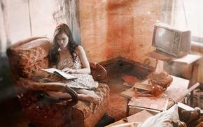 girl, interiors