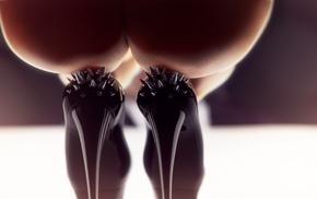 ass, heels, True Detective