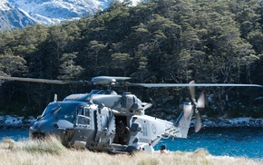 soldier, Royal New Zealand Air Force, military aircraft, NHIndustries NH90, New Zealand, military