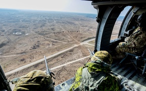 military, Canadian Army, Poland, snipers, military aircraft, helicopters