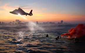 helicopters, military aircraft, coast guards, military, New York City