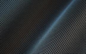 pattern, depth of field, wavy lines, carbon fiber, digital art, 3D