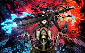 Black Rock Shooter, anime