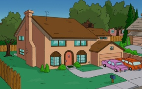 The Simpsons, TV, house