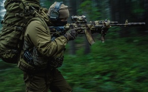 forest, Russian, Spetsnaz, military, Russia, special forces