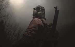 forest, S.T.A.L.K.E.R., gas masks
