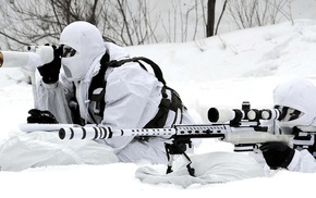 military, snow, Republic of Korea Armed Forces, snipers, South Korea, Danny