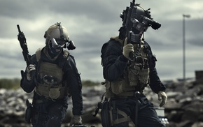 Norwegian Army, tactical, Norway, military, assault rifle, special forces