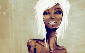 artwork, girl