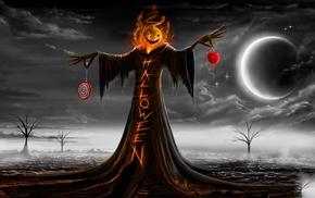 Halloween, scarecrows, pumpkin, Samhain
