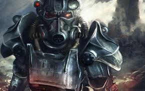 Fallout 4, power armor, Fallout, video games, artwork