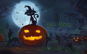pumpkin, vector art, Halloween
