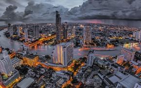 cityscape, MATE, Bangkok, city, Thailand