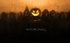 artwork, Halloween, pumpkin, fantasy art