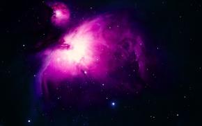 stars, star trails, digital art, space