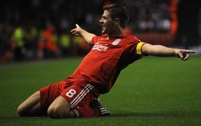 Premier League, Steven Gerrard, footballers, Liverpool FC